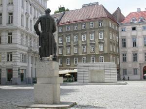 Еврейская площадь в Вене