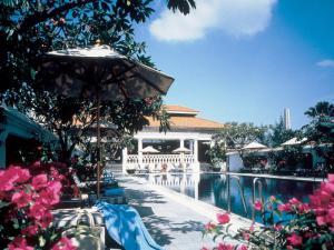 На территории одного из отелей в Сингапуре
