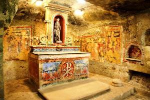 В катакомбах святой Агаты
