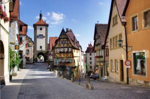 Очаровательный Ротенбург-на-Таубере