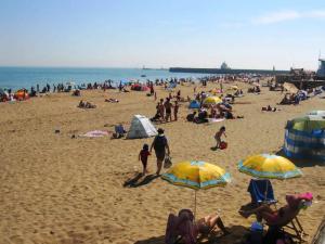 Пляж в Рамсгите