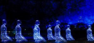 Парк Буффало Байу – скульптурная композиция  «Толерантность», семь фигур представляют семь континентов