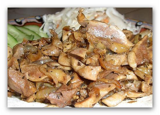 куриные сердца рецепт приготовления на сковороде