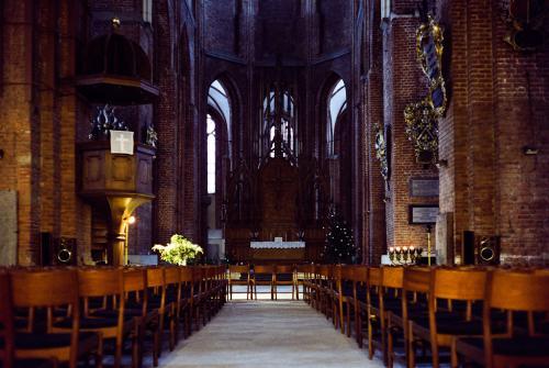 Интерьер церкви Святого Петра