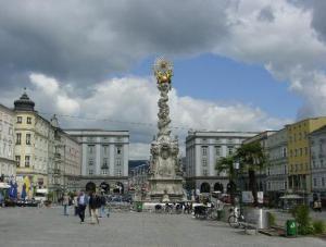 Главная площадь Линца (Хауптплац)