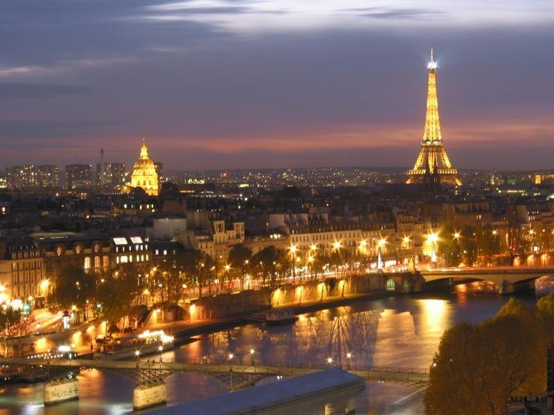 Почему я хочу побывать в париже