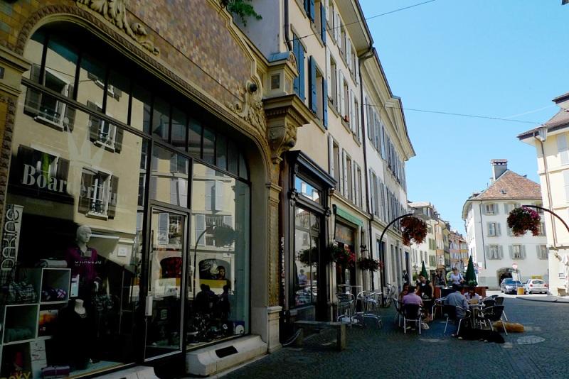 Старый модный город